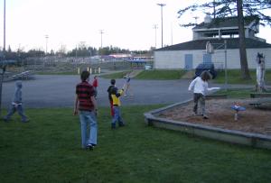 frisbee is fun!