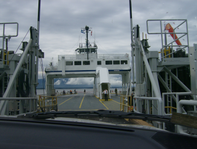 the ferry is plein aire