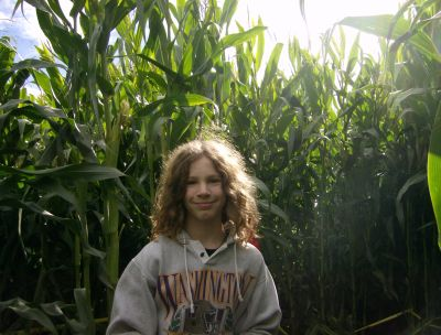 Stidgrant in the corn