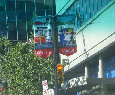interesting street banner