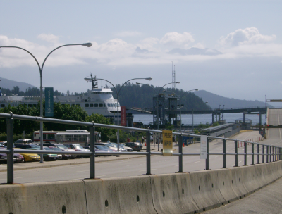 the ferry to horseshoe bay