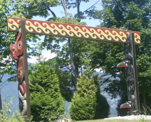 third native style arch