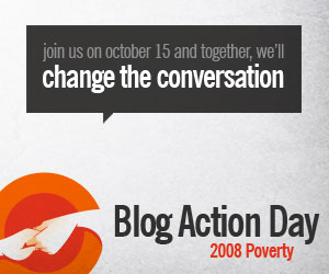 blog action day October 15