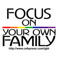Focus on your own family...