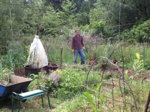 my garden, and my darling Tom -- all that I need to be happy