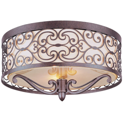 "For the master bedroom, as a focal point.  Pretty scrollwork, not a bright ""reading"" light but definitely better than no light!"
